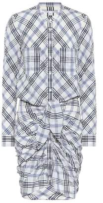 Veronica Beard Della checked shirt dress