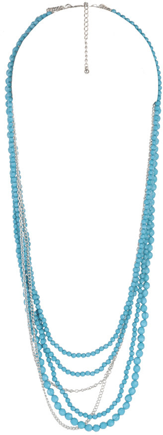 Forever 21 Layered Mix Necklace