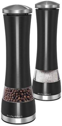 Morphy Richards Electronic Salt And Pepper Mill Set - Black