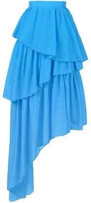 House of Holland frill asymmetric skirt
