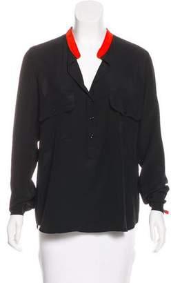 Stella McCartney Silk Button-Up Blouse