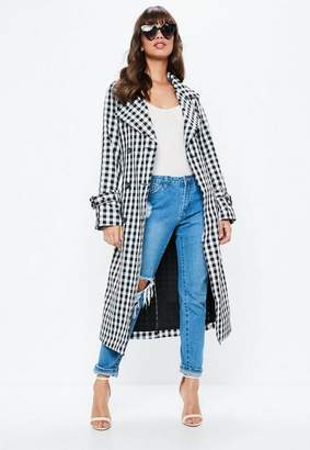 Missguided Gingham Mac