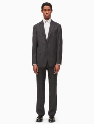 Calvin Klein x-fit ultra slim fit pinstripe suit