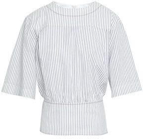 Sonia Rykiel Striped Cotton-Jacquard Top
