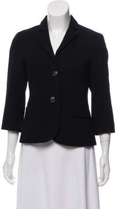 Opening Ceremony Wool & Cashmere Fitted Blazer