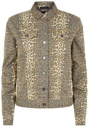 ATM Anthony Thomas Melillo Leopard Print Jacket