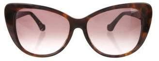 Balenciaga Cat-Eye Gradient Sunglasses