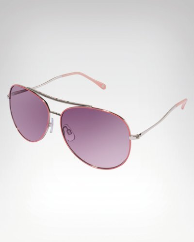 Bebe Crystal Aviator Sunglasses