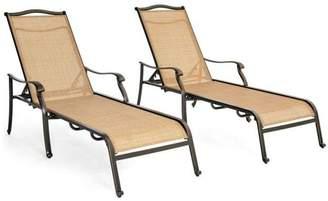 Hanover Hanovef Monaco Chaise Lounge Chairs