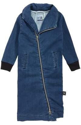 Nununu Maxi Denim Sweatshirt Dress