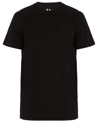 Rick Owens Cotton Jersey T Shirt - Mens - Black