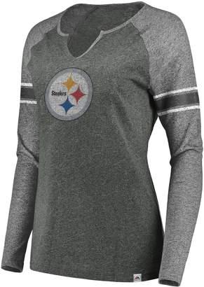 Plus Size Pittsburgh Steelers Varsity Tee