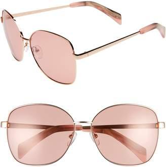 Draper James 61mm Square Sunglasses