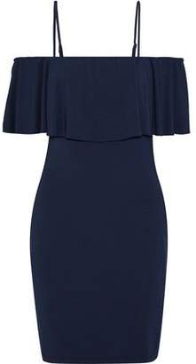 Tart Collections Alessandera Cold-shoulder Stretch-modal Mini Dress