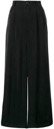 MM6 MAISON MARGIELA high-waist wide leg trousers