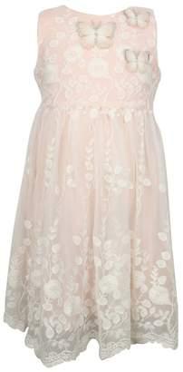 Popatu Lace Overlay Sleeveless Dress