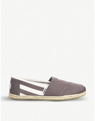 0f7e120a014 Toms University striped canvas espadrilles