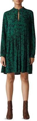 Whistles Deco Floral Print Dress