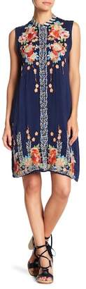 Johnny Was Basille Embroidered Tank Dress