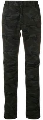 Balmain army print skinny trousers