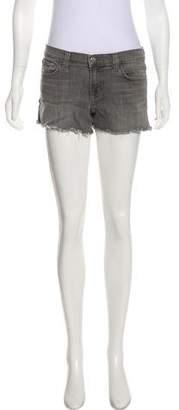 J Brand Mid-Rise Mini Shorts