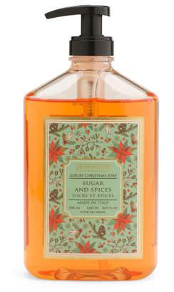 16.9oz Sugar & Spice Poinsettia Liquid Soap