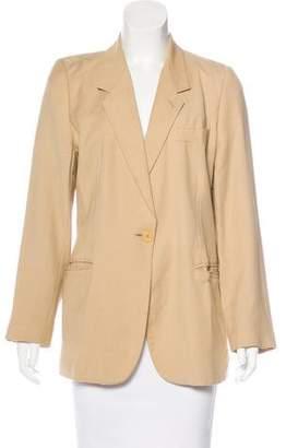 Emporio Armani Long Sleeve Patterned Blazer