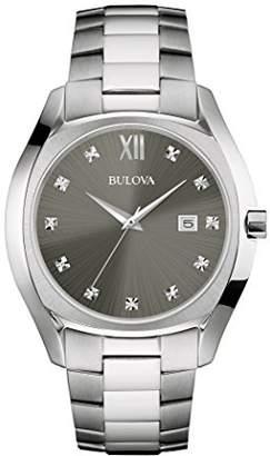 Bulova Men's Quartz Stainless Steel Dress Watch