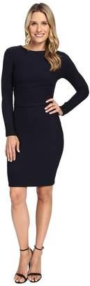 KUT from the Kloth Long Sleeve Pleated Waist Dress Women's Dress