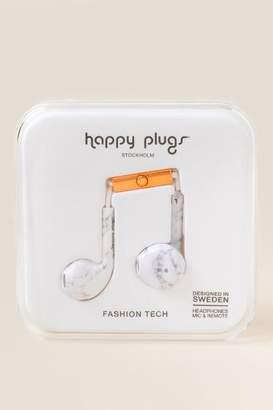 Happy Plugs Marble Headphones