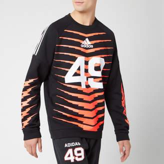 adidas Men's ID Fl GRFX Sweatshirt