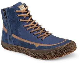 Hybrid Green Label Disruptor Side Zip Mid Sneaker