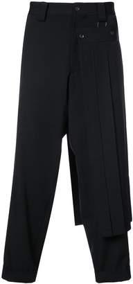 Yohji Yamamoto tapered trousers