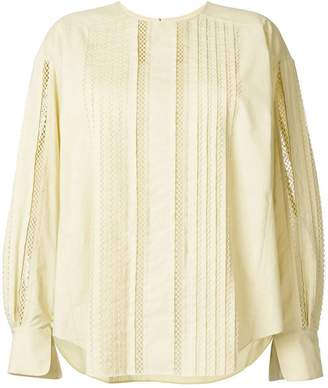 Chloé ladder detail blouse