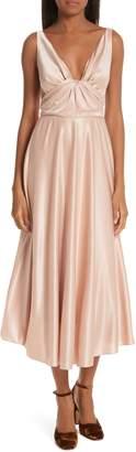 Rachel Comey Badu Satin Midi Dress