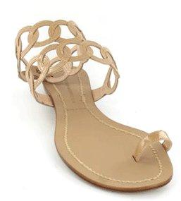 Sigerson Morrison Toe Ring Sandal