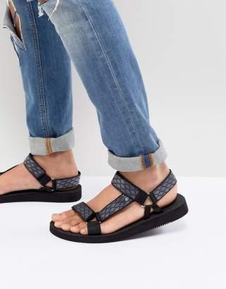 Aldo Moesen Tech Sandals In Black