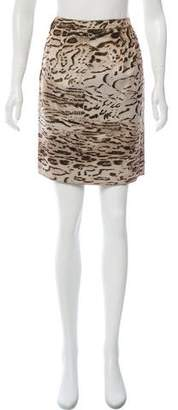 Lanvin Winter 2010 Animal Print Skirt