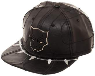 Bioworld MARVEL Panther Suit Up Faux Leather Snapback Hat