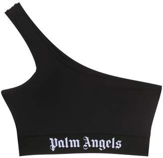 Palm Angels one shoulder crop top