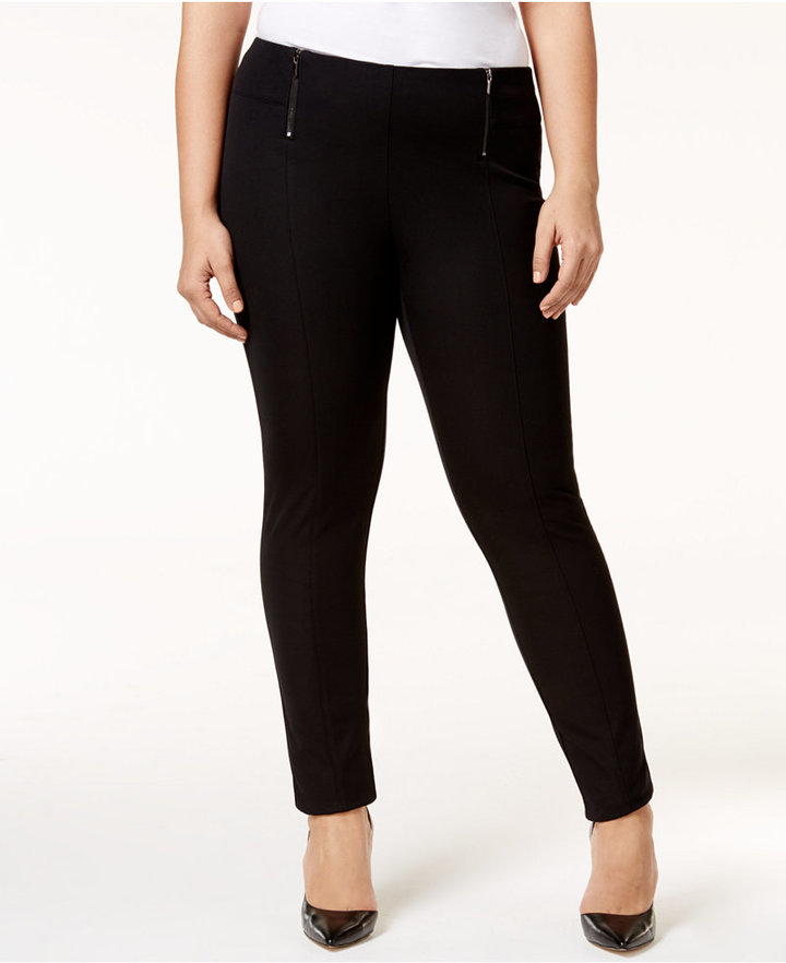Alfani Alfani Plus Size Pull-On Skinny Pants, Only at Macy's