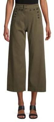 A.L.C. Pierce Button-Front Pants
