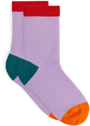 Arket Colour Blocking Socks