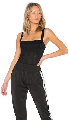 KENDALL + KYLIE Lace Corset Bodysuit