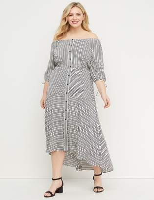 Lane Bryant Convertible Midi Dress