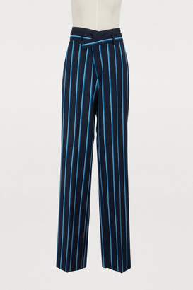 Sportmax Spider wool pants