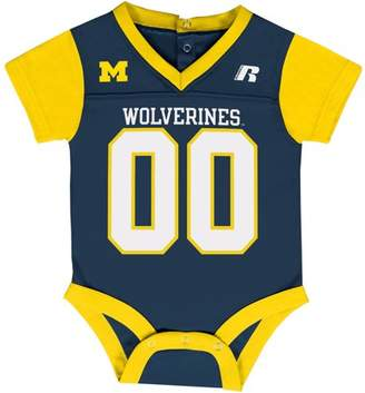 NCAA Michigan Wolverines Baby V-Neck Synthetic Bodysuit