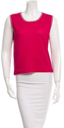 Loro Piana Sleeveless Knit Top