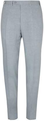 Canali Tailored Linen-Silk Trousers