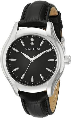 Nautica Women's NAD11003M NCT 18 MID Analog Display Quartz Watch